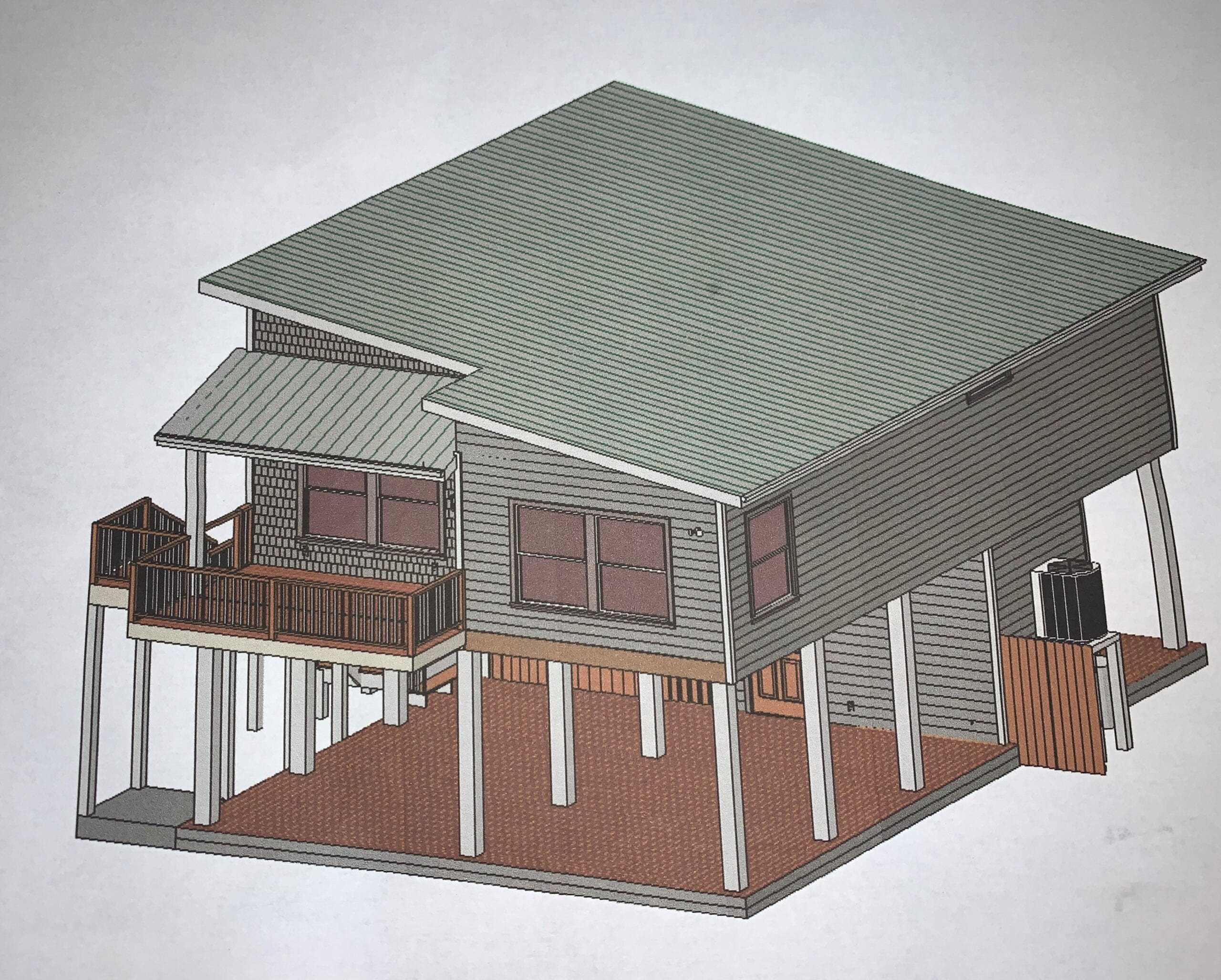 rendering of house